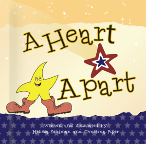 A Heart Apart, Christine Piper, Melissa Seligman, military children, children of deployed soldiers, a child's voice, HEr War Her Voice, Lifecaptured.com